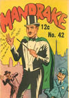 Cover for Mandrake the Magician (Yaffa / Page, 1964 ? series) #42