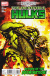 Cover for Incredible Hulks (Marvel, 2010 series) #618 [Direct Edition]