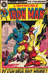 Cover for L'Invincible Iron Man (Editions Héritage, 1972 series) #7