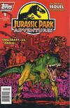 Cover for Jurassic Park Adventures (Topps, 1994 series) #1