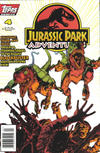 Cover for Jurassic Park Adventures (Topps, 1994 series) #4