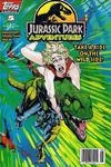 Cover for Jurassic Park Adventures (Topps, 1994 series) #5