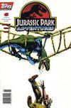 Cover for Jurassic Park Adventures (Topps, 1994 series) #6