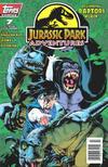 Cover for Jurassic Park Adventures (Topps, 1994 series) #7