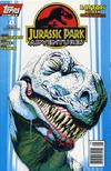 Cover for Jurassic Park Adventures (Topps, 1994 series) #8