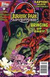 Cover for Jurassic Park Adventures (Topps, 1994 series) #9