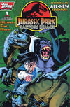 Cover for Jurassic Park: Raptors Hijack (Topps, 1994 series) #1