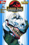 Cover for Jurassic Park: Raptors Hijack (Topps, 1994 series) #2