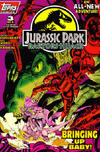 Cover for Jurassic Park: Raptors Hijack (Topps, 1994 series) #3