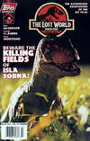 Cover for The Lost World: Jurassic Park (Topps, 1997 series) #3 [Photo Cover]
