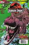 Cover for Return to Jurassic Park (Topps, 1995 series) #3