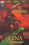 Cover for Xena: Warrior Princess: Year One (Topps, 1997 series) #1