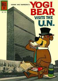 Cover Thumbnail for Four Color (Dell, 1942 series) #1349 [ad] - Yogi Bear Visits the U.N.
