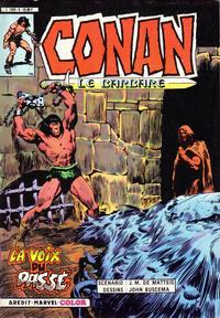 Cover Thumbnail for Conan le Barbare (Arédit-Artima, 1984 series) #5