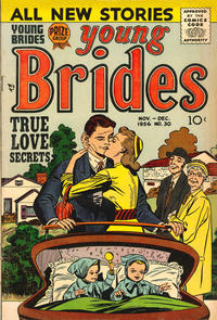 Cover Thumbnail for Young Brides (Prize, 1952 series) #v4#6 (30)