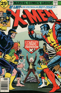 Cover Thumbnail for The X-Men (Marvel, 1963 series) #100 [25¢]
