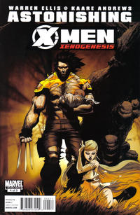 Cover Thumbnail for Astonishing X-Men: Xenogenesis (Marvel, 2010 series) #4