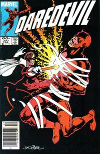 Cover Thumbnail for Daredevil (Marvel, 1964 series) #203 [Newsstand]