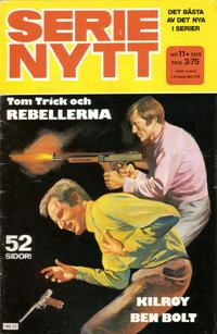 Cover Thumbnail for Serie-nytt [delas?] (Semic, 1970 series) #11/1979