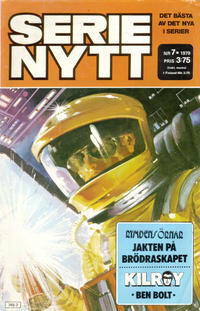Cover Thumbnail for Serie-nytt [delas?] (Semic, 1970 series) #7/1979