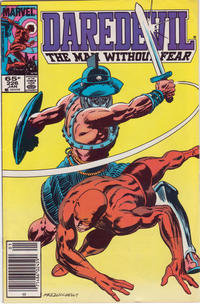 Cover for Daredevil (Marvel, 1964 series) #226 [Direct Edition]