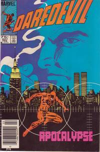 Cover Thumbnail for Daredevil (Marvel, 1964 series) #227 [Newsstand]