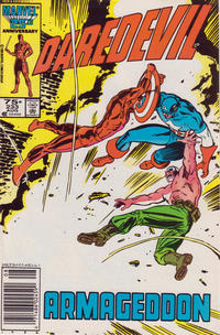 Cover Thumbnail for Daredevil (Marvel, 1964 series) #233 [Newsstand Edition]