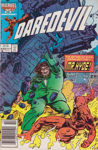 Cover Thumbnail for Daredevil (Marvel, 1964 series) #235 [Newsstand Edition]
