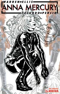Cover Thumbnail for Anna Mercury (Avatar Press, 2008 series) #4 [Design Sketch]