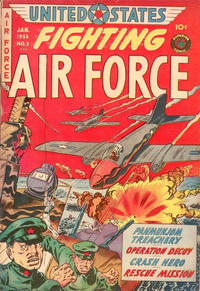 Cover Thumbnail for U.S. Fighting Air Force (Superior Publishers Limited, 1952 series) #3