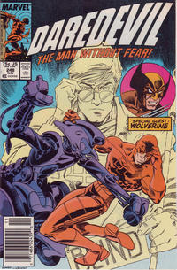 Cover Thumbnail for Daredevil (Marvel, 1964 series) #248 [Newsstand Edition]