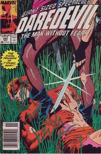 Cover Thumbnail for Daredevil (Marvel, 1964 series) #260 [Newsstand]