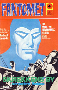 Cover Thumbnail for Fantomet (Semic, 1976 series) #4/1977