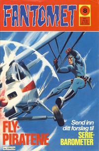 Cover Thumbnail for Fantomet (Semic, 1976 series) #8/1977