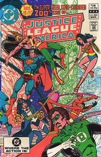 Cover Thumbnail for Justice League of America (DC, 1960 series) #200 [Direct Sales]
