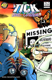 Cover Thumbnail for The Tick and Arthur (New England Comics, 1999 series) #5