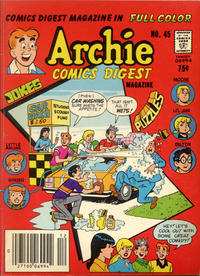 Cover Thumbnail for Archie Comics Digest (Archie, 1973 series) #45 [Newsstand]