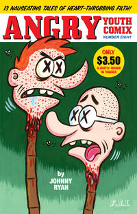 Cover Thumbnail for Angry Youth Comix (Fantagraphics, 2001 series) #8