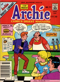 Cover Thumbnail for Archie Comics Digest (Archie, 1973 series) #77 [Canadian]