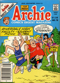 Cover Thumbnail for Archie Comics Digest (Archie, 1973 series) #78 [Canadian]