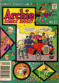 Cover Thumbnail for Archie Comics Digest (Archie, 1973 series) #33