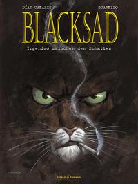 Cover Thumbnail for Blacksad (Carlsen Comics [DE], 2001 series) #1 - Irgendwo zwischen den Schatten