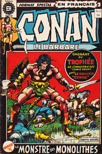 Cover Thumbnail for Conan le Barbare (Editions Héritage, 1972 series) #6