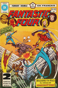 Cover Thumbnail for Fantastic Four (Editions Héritage, 1968 series) #91/92