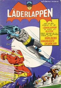 Cover Thumbnail for Läderlappen (Centerförlaget, 1956 series) #12/1966
