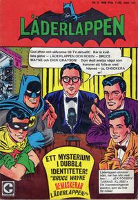 Cover Thumbnail for Läderlappen (Centerförlaget, 1956 series) #2/1968