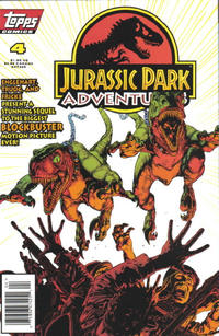 Cover Thumbnail for Jurassic Park Adventures (Topps, 1994 series) #4
