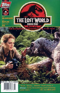 Cover Thumbnail for The Lost World: Jurassic Park (Topps, 1997 series) #2 [Photo Cover]