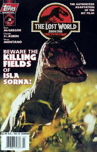 Cover Thumbnail for The Lost World: Jurassic Park (Topps, 1997 series) #3 [Photo Cover]