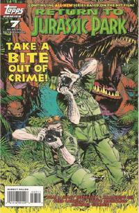 Cover Thumbnail for Return to Jurassic Park (Topps, 1995 series) #7